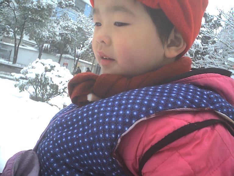 雪景...