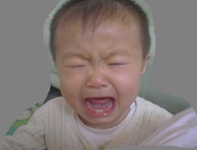 哭脸宝宝图片_