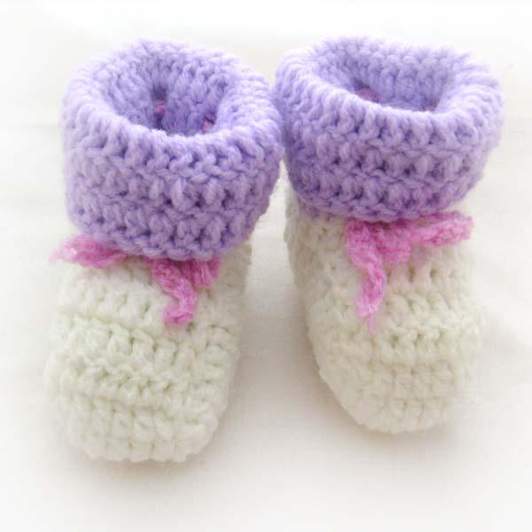 图解,   婴儿鞋的钩法图解