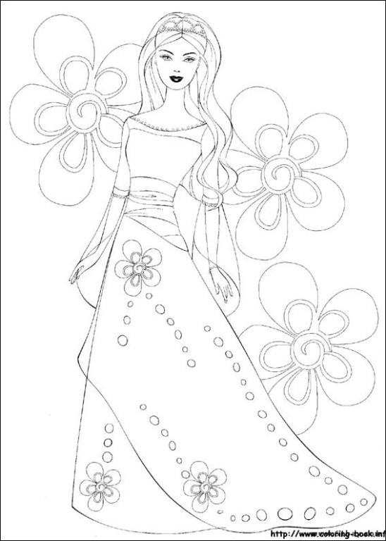 白雪公主,kitty猫等卡通填色图片