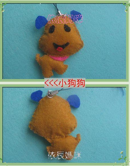 不织布制作的可爱小吊饰、小动物、钱包 - 依呀娃娃 - 依呀娃娃