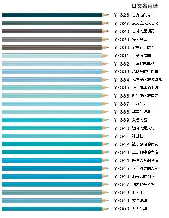 颜色超全的铅笔,大家知道究竟有多少种颜色吗?