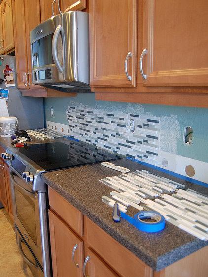 自己装修的开放式厨房,有详细步骤展示哦