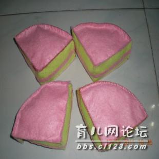 精美的不织布蛋糕(附制作过程图哦)