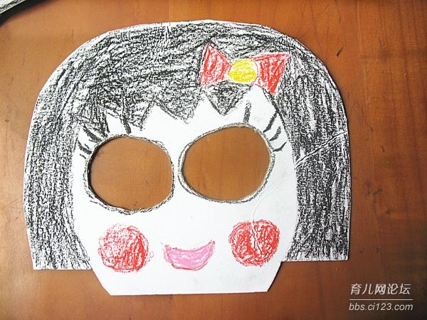万圣节做面具